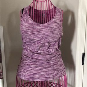 Athleta exercise tank Purple Medium